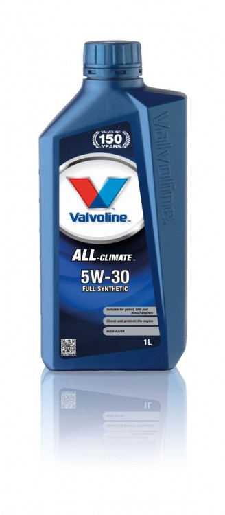 Моторное масло Valvoline ALL CLIMATE SAE 5W-30, 1л