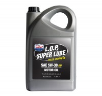 Моторное масло Lucas L.O.P. Super Lube 5W30 GM 5 л.