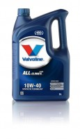 Моторное масло Valvoline ALL CLIMATE EXTRA SAE 10W-40, 5л