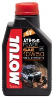 Моторное масло MOTUL ATV-SXS Power 4T 10W-50  1л