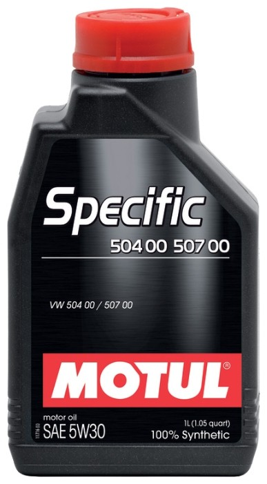 Моторное масло MOTUL Specific VW 504\00\507\00 5W-30 1л
