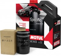 Моторное масло MOTUL Specific VW 504.00.507.00 5W-30 5л (+OEM VAG 06A115561B)