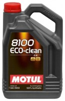 Моторное масло MOTUL 8100  Eco-clean 0W-30 5л