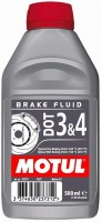 MOTUL DOT 3&4 Brake Fluid 0,5л