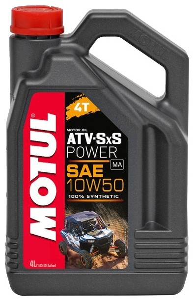 Моторное масло MOTUL ATV-SXS Power 4T 10W-50  4л