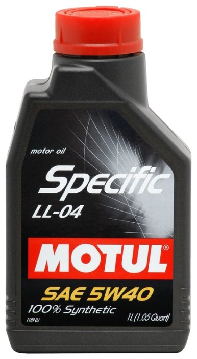 Моторное масло MOTUL SPECIFIC  LL-04 5W-40 1л