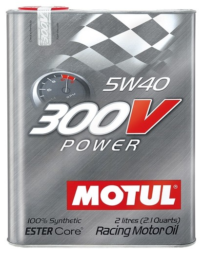 Моторное масло MOTUL 300V POWER 5W-40 2л