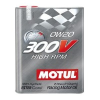Моторное масло MOTUL 300V High RPM 0W-20