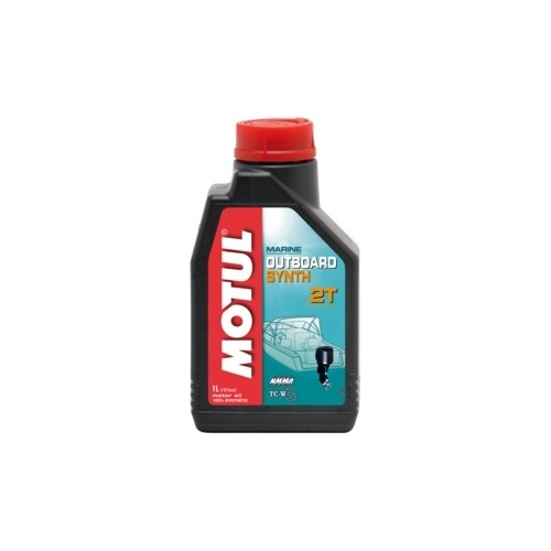 Моторное масло MOTUL OUTBOARD SYNTH 2T 1л