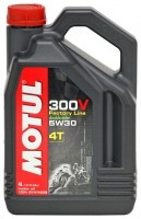 Моторное масло MOTUL 300 V 4T FL Road Racing SAE 5W-30 4л