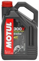 Моторное масло MOTUL 300 V 4T FL Road Racing SAE 5W-40 4л